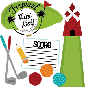 Have fun at our 18 holes mini golf in Mui Ne